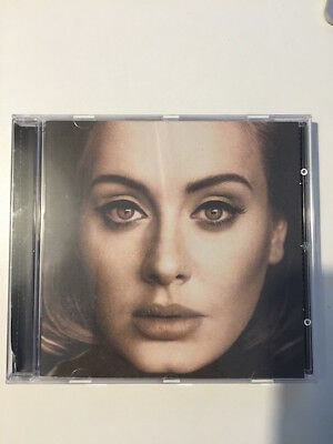 Adele - 25 (2015) CD - Very Good Condition Small Crease On Cover