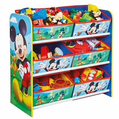 Micky Maus Regal Kindermöbel Kinderregal Spielzeugkiste Mickey Mouse 471MKS