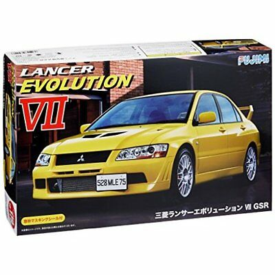 Fujimi ID-179 1/24 Mitsubishi Lancer Evolution VII GSR Japan new .