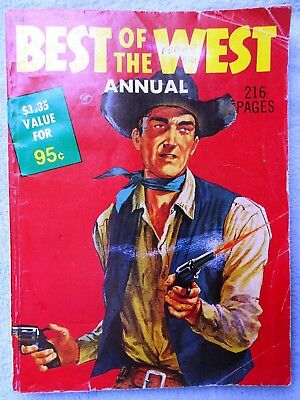 Australian Reprint Western Comic: The Best of the West , 216 Pages, 1970s