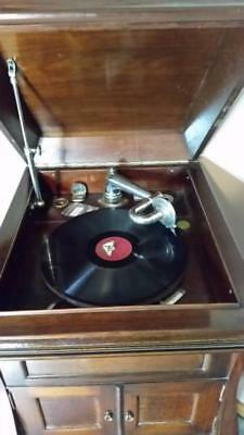 ANTIQUE REXONOLA GRAMOPHONE PLAYER CIRCA 1920's