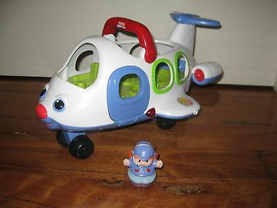 Fisher Price Little People Plane Boys Girls Toys
