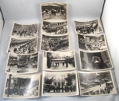 Lot 13 Photo 1932 Montreal Firefighter Firemen Funeral