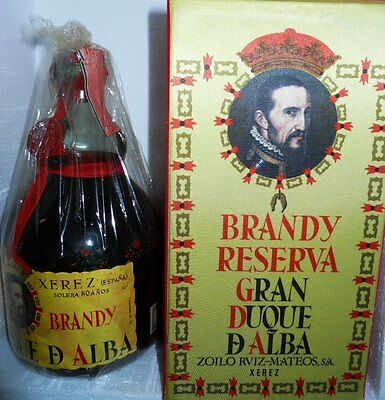 old brandy reserva gran duque d'alba 80 anos cl 75 40°+box