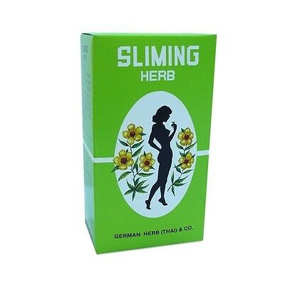 50 Bags German Herb Slimming Diet Tea Fat Burn Slim Fit Fast Detox Laxative
