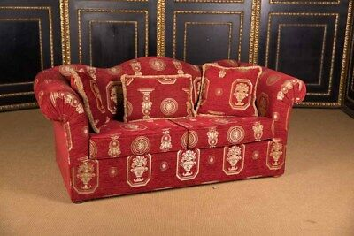 High-Quality Original Club Sofa 2 Seater in the English Style