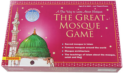 The Great Mosque Board Game for Kids & Adults - Fun Learning and Education -