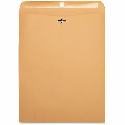 "Business Source Clasp Envelopes 28 lb. 12""x15-1/2"" 100/BX Brown Kraft 36667"