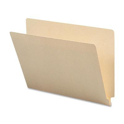 """Sparco End Tab Folders,Straight Tab,Letter,9-1/2""""Front,100/BX,MLA SP17237"""