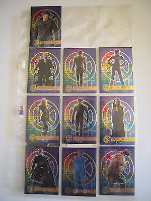 X Men The Movie  Subset Complet   10 Cards 2000 Tbe