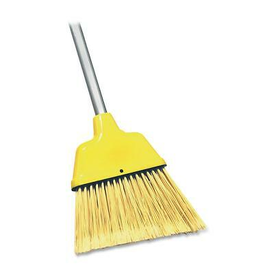 "Genuine Joe Angle Broom High Performance Bristles 12-1/2"" W Yellow 09570"