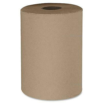 Stefco Industries Hardwound Natural Paper Towel 12RL/CT Natural 410104