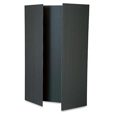 "Pacon Tri-Fold Presentation Boards 48""x36"" 12/CT Black 3862"