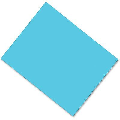 "Pacon Corporation Poster Board Coated Fade Resistant 28""x22"" 25/CT Lt Blue 53871"