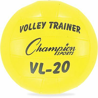 Champion Sports Volleyball Trainer Size 8 18-Panel Yellow VL20