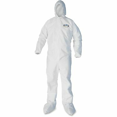 Kimberly-Clark Liquid/Particle Protection Coveralls Med 25/CT White 44332
