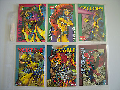 Marvel Crunch'n Munch Serie 1   6 Cards   1994 Tbe 2Nd Edition
