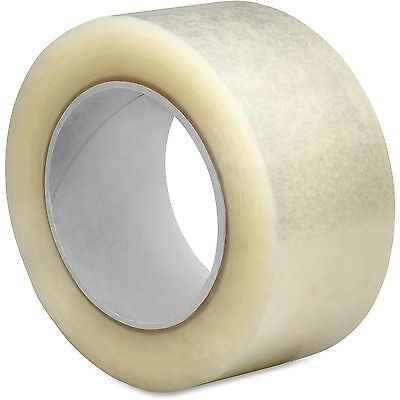 """Sparco Hot Melt Packaging Tape, 2.5Mil, 2""""x55 Yds, 36/CT, CL 74951"""