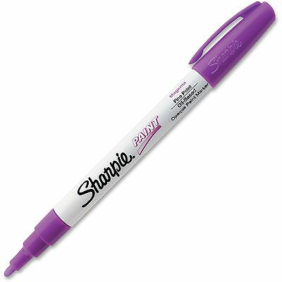 Sharpie Oil Based Paint Markers Fine Pt Magenta 35547