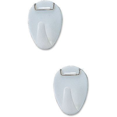 Officemate Cubicle Hooks 2lbs Capacity White 30180