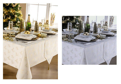Deer Christmas Tablecloth And Napkin Package Set - 5 Sizes - Free Delivery