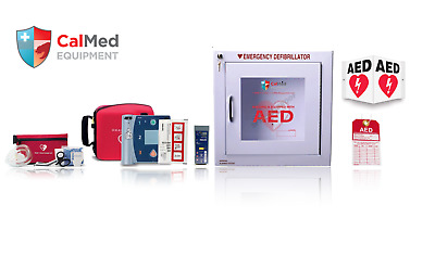 Philips HeartStart FR2+ AED Defibrillator VALUE PACKAGE w/ 2 YEAR WARRANTY