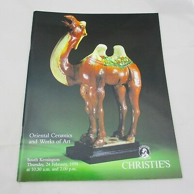 Christie's Auction Catalogue - Oriental Ceramics and Works of Art 1994