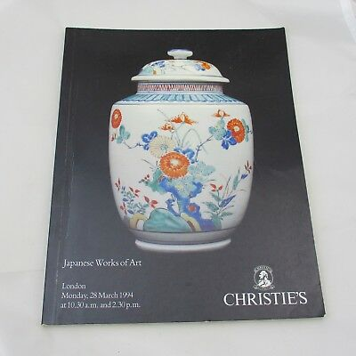 Christie's Auction Catalogue - Japanese Works of Art 1994