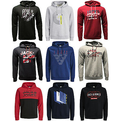 Jack & Jones Kapuzenpullover Hoodie Sweat Shirt Herren Hoody SALE S M L XL XXL
