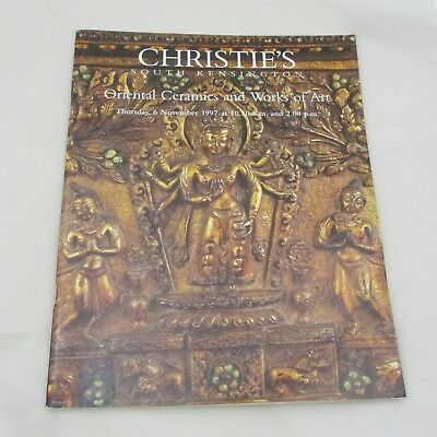 Christie's Auction Catalogue - Oriental Ceramics and Works of Art 1997