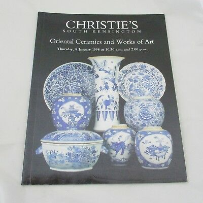Christie's Auction Catalogue - Oriental Ceramics and Works of Art 1998