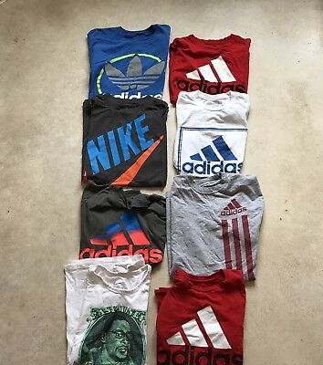 Vintage Wholesale Joblot Branded T-shirts Adidas And Nike