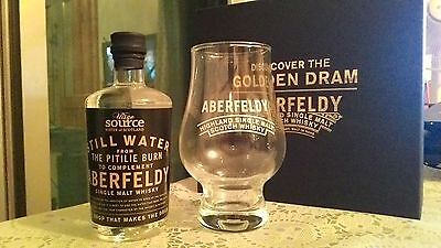 ABERFELDY PITILLE BURN WATER (100ml) + GLASS in box