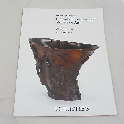 Christie's Auction Catalogue - Chinese Ceramics and Works of Art