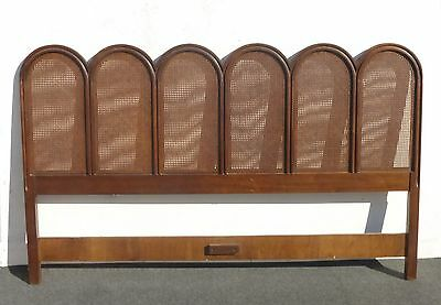 Vintage French Provincial Cane King HEADBOARD by Drexel Heritage