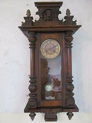 German Vienna Wall Clock, Made By Kienzle And Key ..in Cornwall Pick Up Only....
