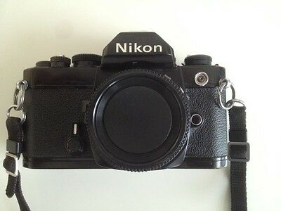 Nikon FM SLR Camera Body in Great Condition and Tested with Film