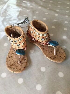 Disney Moana Sandals Dress Up - UK 7-8