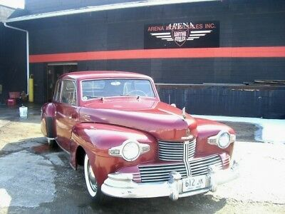 1942 Lincoln Continental 57 1942 Burgundy 57!