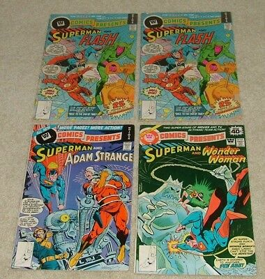 Whitman Variants Comics Presents Lot Of 4 Comics  Free Shipping