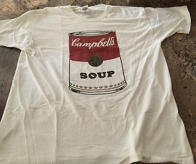 Campbell's Soup, Soup Can T-shirt, Adult X-large,new condition,