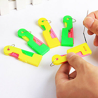 6Pcs Automatic Needle Threader Thread Guide Elderly Use Device Sewing Tool Kit