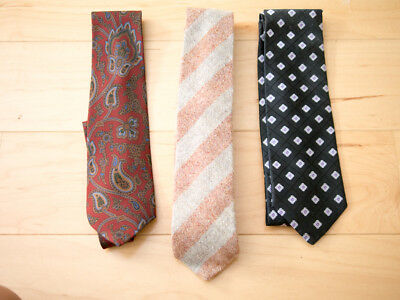 Lot of 3 Neckties Luciano Barbera Corneliani Nordstrom