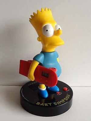 Very Rare - Wesco Vintage Bart Simpson With Skateboard Clock - Free Shipping