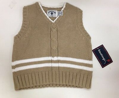 NWT Kitestrings Boys Vest 3T 100% COTTON