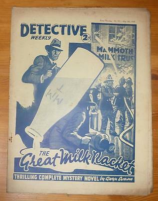 DETECTIVE WEEKLY No 273 14TH MAY 1938 THE GREAT MILK RACKET, SEXTON BLAKE
