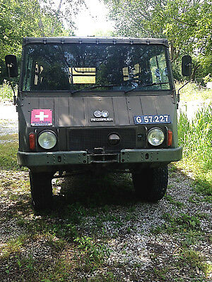 Great Running 1972 STEYR PUCH Pinzgauer 710M