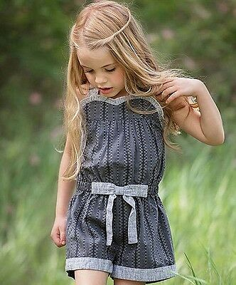 NWT Persnickety Lauren Romper Size 6