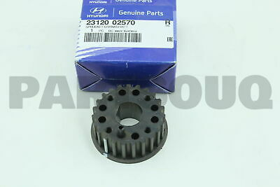 2312002570 Genuine Hyundai / KIA SPROCKET-CRANKSHAFT
