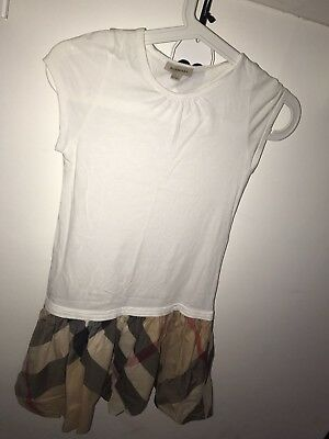 Burberry Girls Dress Age 10 Y Worn Once